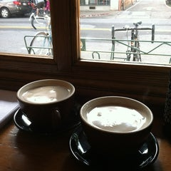 Photo taken at Linnaea's Cafe by Marci B. on 2/18/2012