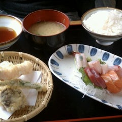 Photo taken at Sushi Taro by Winnie D. on 1/20/2012