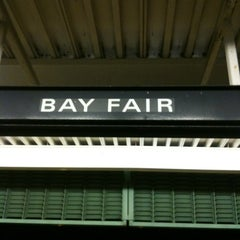 Photo taken at Bay Fair BART Station by Joanne F. on 3/25/2012