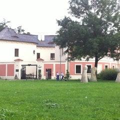 Photo taken at Restaurace Chodovská tvrz by Ondrej on 8/14/2011