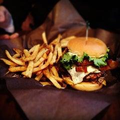 Photo taken at Frat Burger by Eddie O. on 3/29/2012
