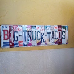 Photo taken at Big Truck Tacos by William M. on 7/21/2012