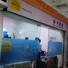 Photo taken at Raghuleela Mega Mall by ClubMTravel on 5/26/2012