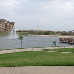 Photo taken at The Park at Josey Ranch Lake by Kelly L. on 3/16/2012