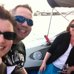 Photo taken at The Diva Boat by Stephanie C. on 8/16/2012