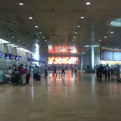 Photo taken at Terminal 1 by Mark A. C. on 8/9/2012