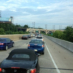 Photo taken at I-76 Schuylkill Expressway by ⚡ The G. Man ⚡ on 7/27/2012