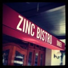 Photo taken at Zinc Bistro by Kelvin J. on 6/10/2012