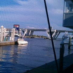 Photo taken at Dockside Cafe by Alyssa C. on 5/11/2012