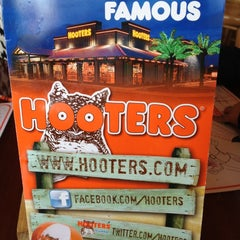 Photo taken at Hooters by JavierandTessa D. on 2/26/2012