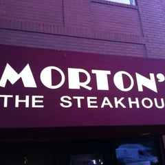 Photo taken at Morton's The Steakhouse by Fletcher M. on 7/7/2012