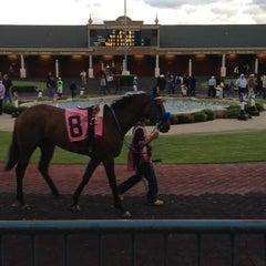 Photo taken at Lone Star Park by Cydney S. on 4/21/2012