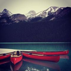 Photo taken at Lake Louise by Yi Z. on 7/13/2012