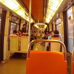 Photo taken at Metro San Joaquín by Pedro V. on 4/12/2012