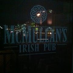 Photo taken at McMullan's Irish Pub by Craig C. on 4/9/2012