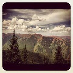 Photo taken at The Sundeck at Aspen Mountain by James S. on 7/21/2012