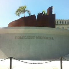 Photo taken at Holocaust Memorial Monument by Bebo G. on 5/24/2012