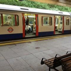 Photo taken at Wimbledon Park London Underground Station by Zoltan G. on 6/12/2012