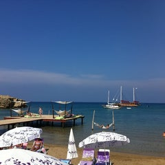Photo taken at Escape Beach Club by Ebru Ç. on 5/6/2012