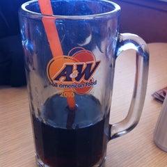Photo taken at A & W by Bo B. on 2/19/2011