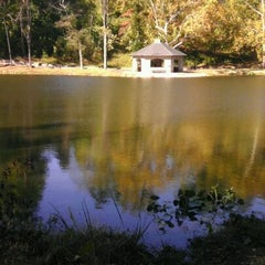Photo taken at Forest Hill Park by Joi U. on 10/21/2011