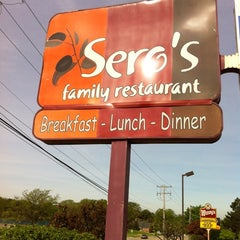 Photo taken at Sero's Family Restaurant by Jeffrey R. on 5/21/2011