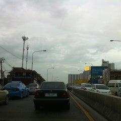 Photo taken at Ngam Wong Wan Road by Thitirak A. on 6/15/2012