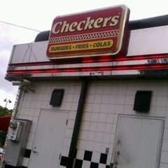 Photo taken at Checkers by Joe P. on 9/28/2011