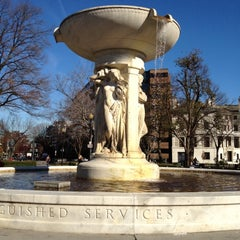 Photo taken at Dupont Circle by Jon B. on 11/25/2011