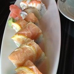 Photo taken at Sushi Koji by Ashley S. on 7/10/2012