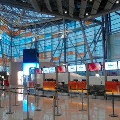 Photo taken at Zvartnots International Airport | Զվարթնոց Միջազգային Օդանավակայան (EVN) by Vachagan A. on 9/9/2012