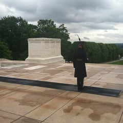 Photo taken at Tomb of the Unknowns by Linda D. on 5/21/2012