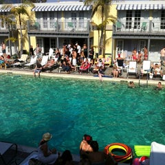 Photo taken at The Lafayette Hotel, Swim Club & Bungalows by Becker B. on 5/19/2012