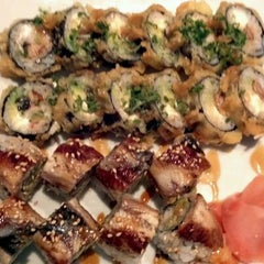Photo taken at Izziban Sushi by Anne M. on 8/28/2011