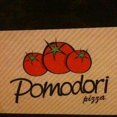 Photo taken at Pomodori Pizza by Raquel . on 5/25/2012