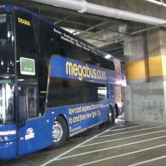 Photo taken at Megabus Stop - Washington, DC by Sherrie L. on 12/5/2011