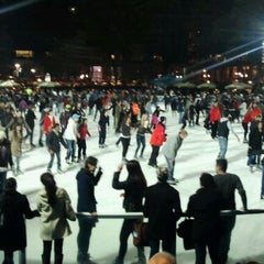 Photo taken at Bank of America Winter Village at Bryant Park by Terri L. on 11/19/2011