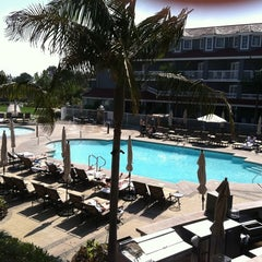 Photo taken at Laguna Cliffs Marriott Resort & Spa by Ashley D. on 9/22/2011