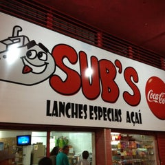 Photo taken at Sub's Lanches Especiais by Gui S. on 7/4/2012