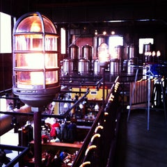 Photo taken at C.H. Evans Brewing Co. at the Albany Pump Station by Tim R. on 1/30/2012