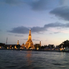 Photo taken at Chao Phraya River by ひょん on 7/21/2012