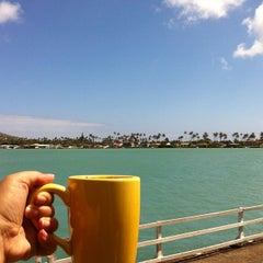 Photo taken at Island Brew Coffeehouse by Melissa C. on 8/1/2012