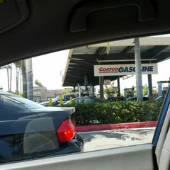 Photo taken at Costco Gasoline by David T. on 8/18/2012