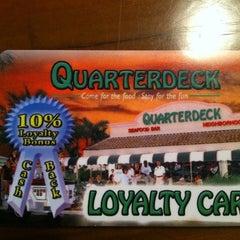Photo taken at Quarterdeck Restaurant by Ruben G. on 8/7/2011