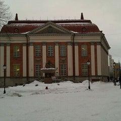 Photo taken at Turun kaupunginkirjasto by Juha M. on 2/5/2011