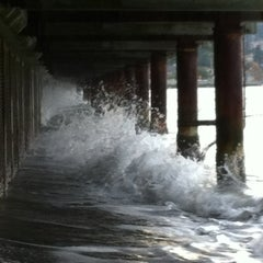 Photo taken at Redondo Board Walk by Spenser H. on 10/14/2011