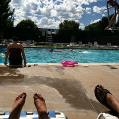 Photo taken at South Park Pool by Lara T. on 8/7/2011