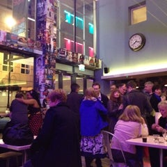 Photo taken at Soho Theatre Bar by London L. on 3/17/2012