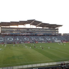 Photo taken at Dick's Sporting Goods Park by Valerie S. on 9/6/2012
