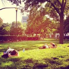 Photo taken at Dupont Circle by Nathan L. on 5/27/2012